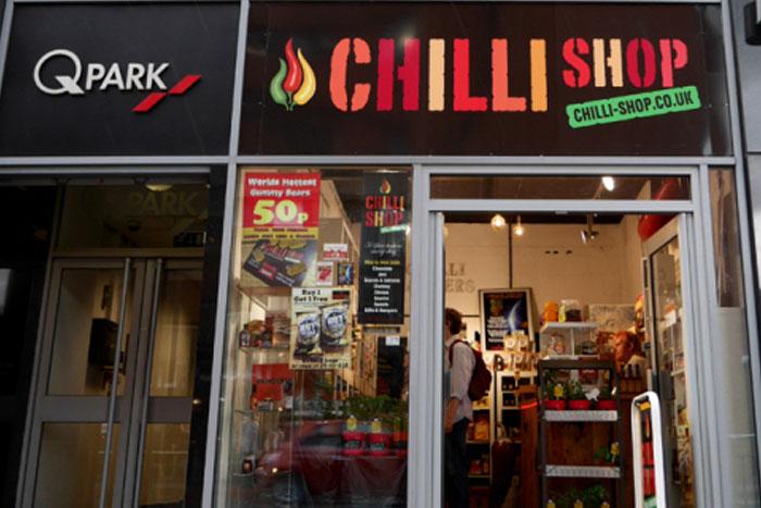 the chilli shop